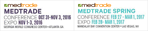 MEDTRADE CONFERENCE OCT 31-NOV 3, 2016 EXPO NOV 1-3, 2016 MEDTRADE SPRING CONFERENCE FEB 27-MAR 1,2017 EXPO FEB 28-MAR 1, 2017